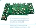 Multimedia q7 vedio interfaz, mmi tablero electrónico, e380 con gps