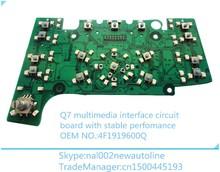 Q7 multimedia vedio interface,MMI electronic board ,E380 with GPS