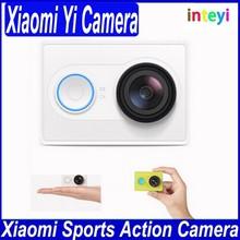 Original Xiaomi Yi Action Camera Xiaoyi Mi Sport Camera 16MP FHD 1080P WIFI Bluetooth 4.0 Waterproof Diving Standard Edition