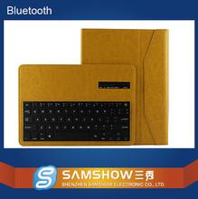 """tablet Bluetooth keyboard 10.1"""" fancy leather case for samsung galaxy tab 4"""