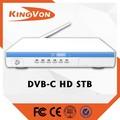 Kingvon HD DVB-C digital de la caja superior cable tv