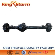 China King-Storm Cargo Motorcycle 180/220drum 4/5 hole big rooster electric tricycle 3 wheeler rear axle