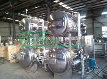 Large autoclave sterilizer for food