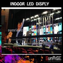 Advertising Super Slim Aluminum indoor full colo flexible transparent oled display stage background led display big screen