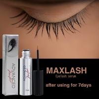 MAXLASH Natural Eyelash Growth Serum (plastic eyebrow tweezers)