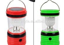 Rechargeable camping lantern / solar led lantern/AAA battery USB power bank