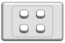 wifi controlled power switch SAA4 gang light switch led light switches