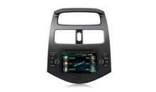 2 din in- auto precipitare radio stereo/DVD/gps/MP3/3g sistema multimediale per Chevrolet Spark v7075cs