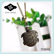 TF0048 Antique Turtle anime pocket watch