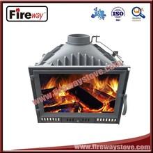 New fashion indoor cast iron wood burning fireplace insert