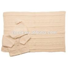 15BLT1014 baby kids beanie cashmere blanket king
