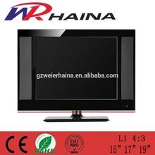 guangzhou tv factory price 17 inch 1080p lcd monitor