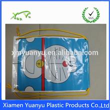 High quality printing customized colored drawstring bag plastic bag custom velvet drawstring pouch bag