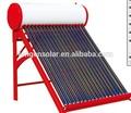 compacto solar evacuado del tubo calentador de agua caliente precio de gran fabricante solar