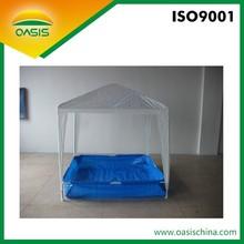 Folding portable Pe swimming pool for child