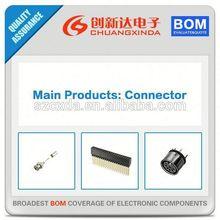 (Connedtors Supply) AC3FAVL1-AU-B XLR Connectors 3 POLE FEM;VERT;NO LATCH;GOLD PLATE CON