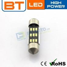 Auto Led Light 12V 3014 31mm / 36mm / 39mm / 41mm Festoon Dome 6smd Led Light