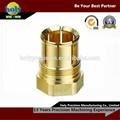 ที่กำหนดเองในประเทศจีนมาตรฐานความแม่นยำทองเหลืองcncชิ้นส่วนเครื่องจักรกล, วัสดุทองเหลืองcncการประมวลผลบริการ