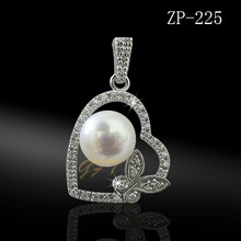 JEWELRY MANUFACTURER CHINA, fashion heart necklace jewelry with pearl