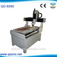 Mini cnc router with CE Certificate/Mini cnc cutting and carving machine QD-6090