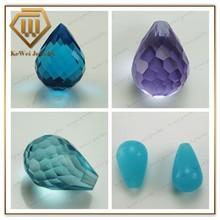 Decorative/Inexpensive stereoscopic teardrop shape glass beads