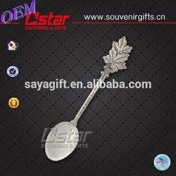 Beautiful pure sterling silver spoon in zhong shan