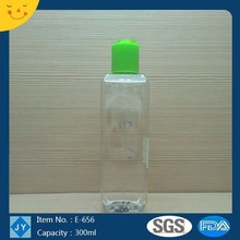 300ml 10oz pet square Plastic olive oil water,shampoo ,hair care cream,hand sanitizer bottles