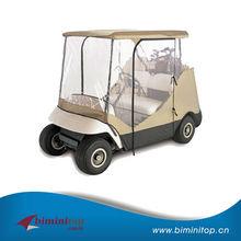 Regular size china golf cart cover sale in european market