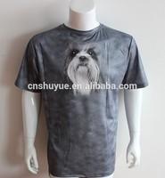 Custom O-neck t-shirt printing, cotton t shirt, print t shirt