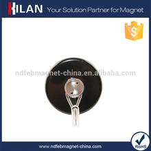 Fuerte negro decorativo magnética la taza de la cocina ganchos para que cuelga