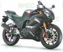 Motorcycle cargo three wheel motorcycle with steering wheel