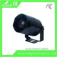 Hot sale ! 108-115dB 15W/20W electric siren HC-S28 600mA/1200mA single tone/ 6-tone