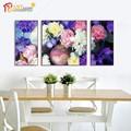 moderno abstracto flor decoración de hogar pinturas de tela