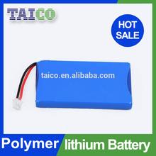 Li-polymer 3.7v 1800mah rechargeable li-ion battery pack