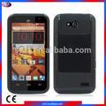 tpu de silicona fabricados en china teléfono de accesorios smartphone 2 caso tono híbrido caso del teléfono celular para zte n9130 velocidad