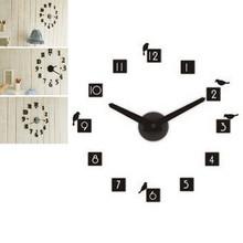 Creative DIY CLOCK 360 3D Digital Wall Clock