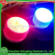 Valentine's day flashing LED light earrings