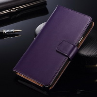 Leather wallet design for S6 case , folio business style for samsung S6 case , inside brown for samsung galaxy S6 case