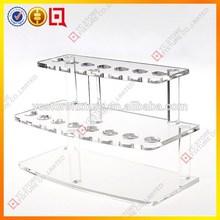 Factory-direct price clear acrylic e cigarette display stand/e-cigarette holder