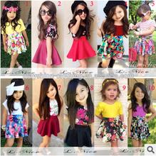 Classic girl's clothing girls dress children dress wholesale export quality girl dress