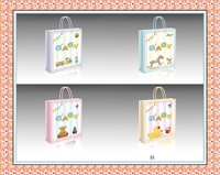 2015 hot selling X-mas gift paper bag & baby bag happy birthday