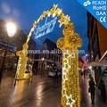 Arco led con motivos/multi color de la decoración de navidad de luz led motivo
