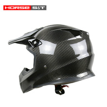 HM Motorcycle Motocross Fashional Carbon Fiber Motorcycle Helmet
