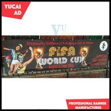 Shanghai YUCAI OEM vinyl banner printing service in outdoor event