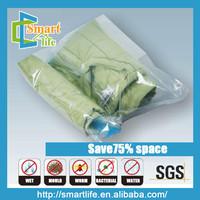 space saving hand-rolling vacuum storage bags air travel