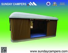 garden tent camping gas strut hard shell roof tent