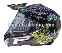 cross-country helmet of motorcycle