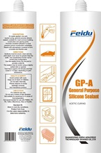 Fast Curing/GP/Acid Curing Silicone Sealant