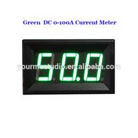 Professional Manufacturer Green Led Digital DC 10A Ampere Meter Without Shunt
