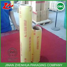 super clear food wrap pvc cling film pvc wrapper